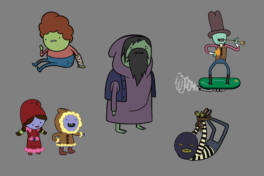 Design An Adventure Time Character : More adventure time designs skronked
